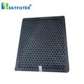 Multi-pore round activated carbon filter