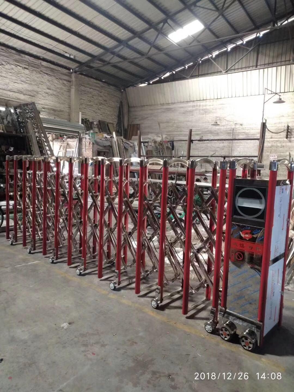 不鏽鋼電動伸縮門中國龍一號 2