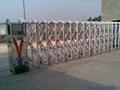 不鏽鋼電動伸縮門中國龍一號 3