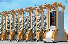 不鏽鋼電動伸縮門中國龍二號