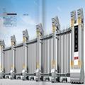 不鏽鋼電動伸縮門中國龍二號 3