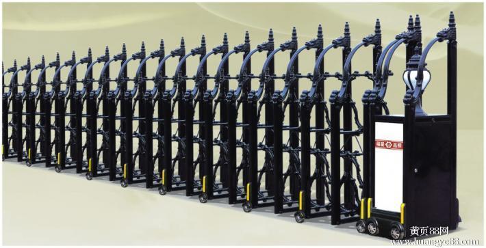不鏽鋼電動伸縮門中國龍二號 5
