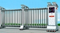 不鏽鋼電動伸縮門中國龍三號 2