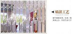 不鏽鋼通花閘封閉型