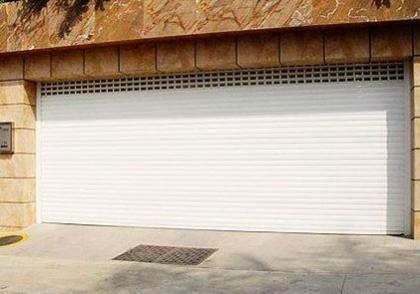 高檔鋁合金車庫門 2