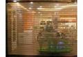 不鏽鋼管水晶捲簾門 4