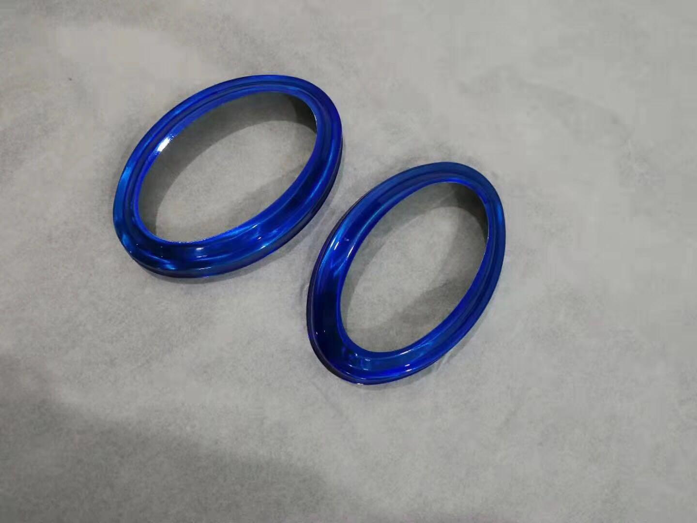 不鏽鋼拉絲寶石藍制品 5