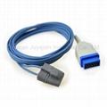 GE 11pin Masimo tech ear clip spo2 sensor neonate silicone wrap