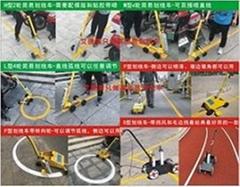 道路劃線車油漆小區停車位場地劃線器