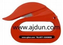 英國fish天鵝形塑料袋打包帶專用切割刀