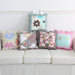 Pastoral Cotton Quilted Pillowcase