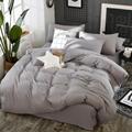Solid Color 3/4 Pcs Bedding Set
