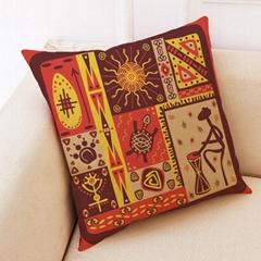 African National Stripe Bohemian Geometric cushion cover Throw Pillow Case