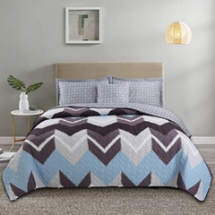 American style Quilt Set 3pcs air conditioner Quilts Cotton Quilted Bedspread