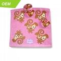 Animal Design Magic Towel Compressed Travel Camping cotton gift towel 2