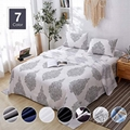4 Piece Brushed Microfiber Bed Sheet Set