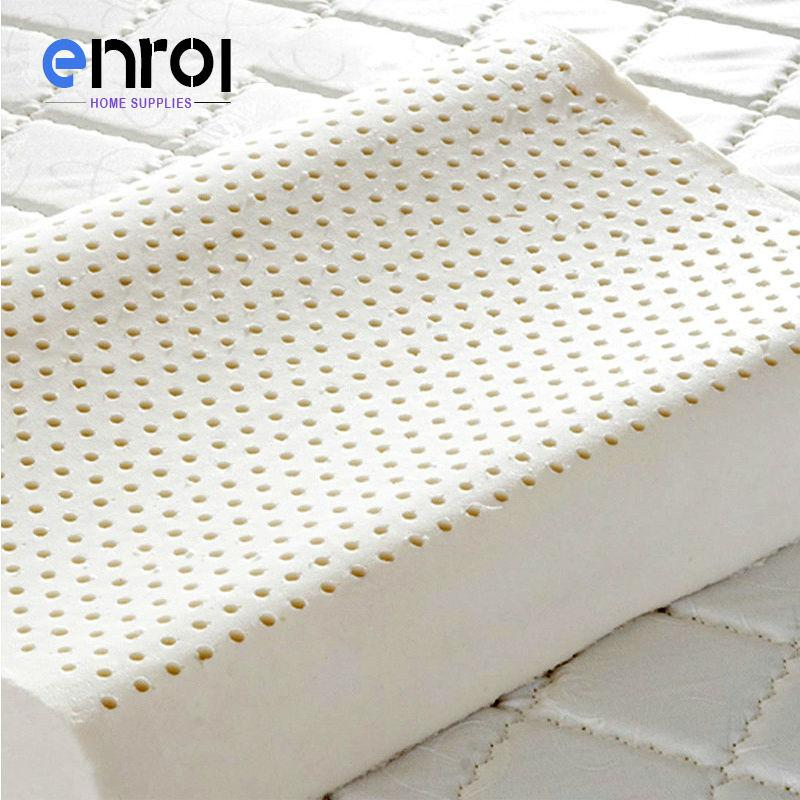 Enrol Natural Latex Pillow Memory Orthopedic Massage Pillow Core For Neck Body F 3
