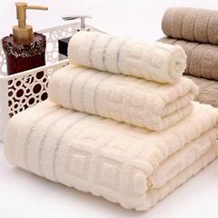 100%cotton  bath towel