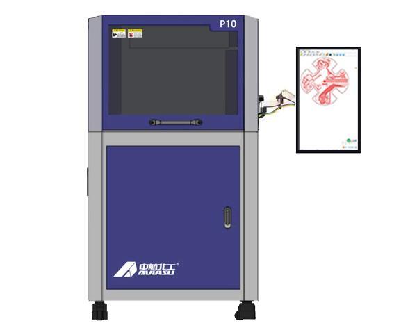全自动PCB雕刻机 P10 自动调整刀深 1