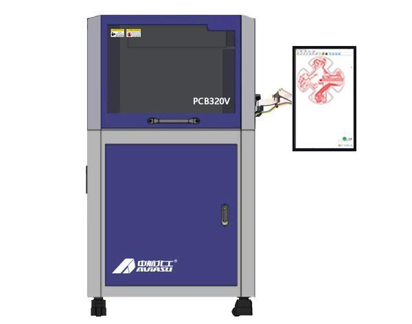 PCB雕刻机PCB320V 视觉高速钻铣雕一体机 自动吸尘 1