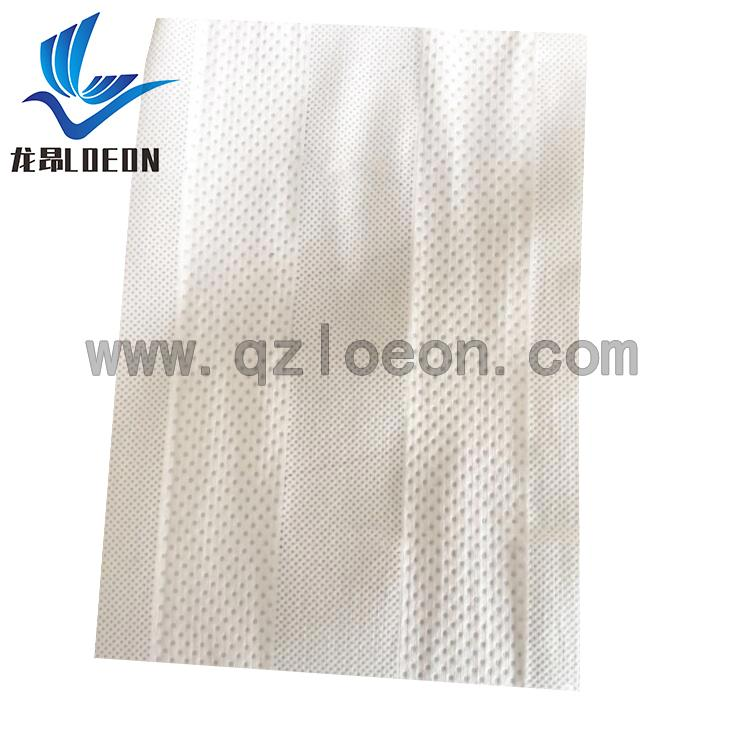 Stretchy side ear nonwoven fabric roll raw material for baby diaper 1