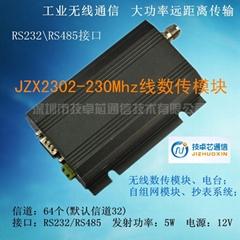230MHz無線數傳收發電台RTK收發模塊不限包長