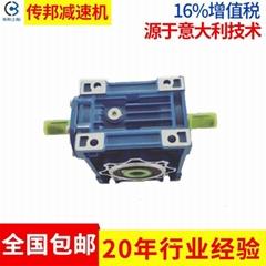 品牌直销 传邦RV25铝合金蜗轮蜗杆减速机