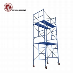 Mobile Mason Scaffolding Ladder Frame for Construction