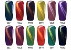 24 Colors Cat Eye Magnetic Gel Polish Barbie 3D QQ Nail Gel Polish