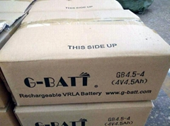4V4.5AH Lead-Acid Battery