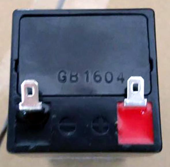 玩具及應急燈用蓄電池4V4.5AH 2