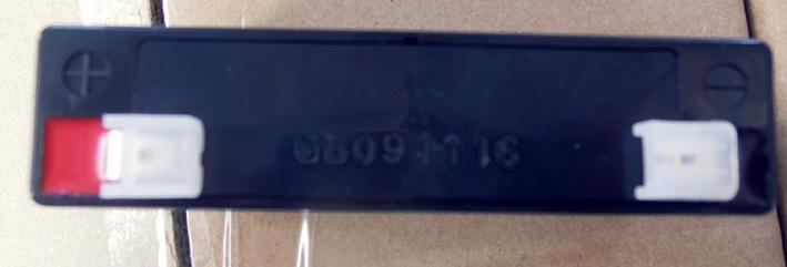 6V1.3AH免維護鉛酸電池,電子秤考勤機充電電池 3