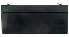冠臻免维护蓄电池6V3.2Ah儿童玩具车电子称战神四轮定位仪电瓶
