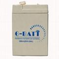 电子秤电池6V4AH蓄电池电瓶