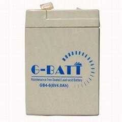 电子秤电池6V4AH蓄电池电瓶童车通用电池6V4Ah/20HR