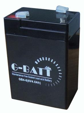 電子秤電池6V4AH蓄電池電瓶童車通用電池6V4Ah/20HR 2