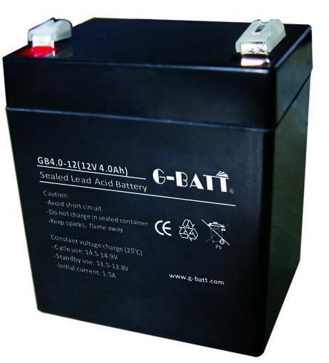 12V4AH蓄電池 4