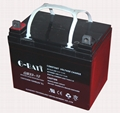 Sealed lead-acid battery with 12V33Ah