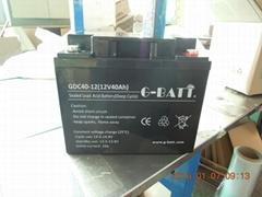 12V40AH電池