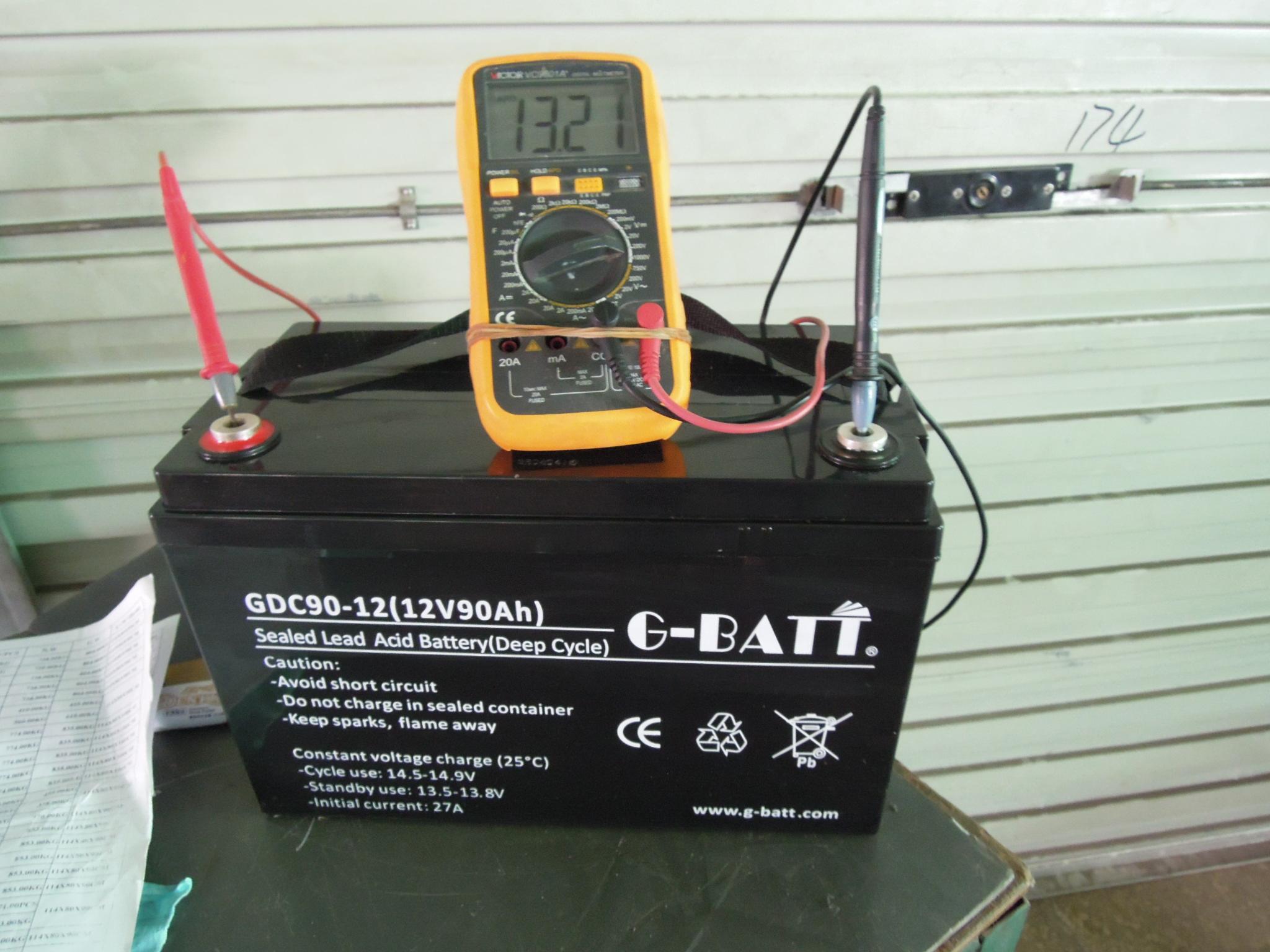 閥控式鉛酸蓄電池12V90AH 1