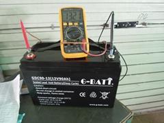 閥控式鉛酸蓄電池12V90AH