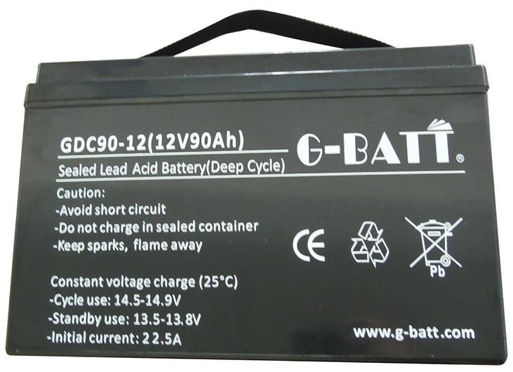 閥控式鉛酸蓄電池12V90AH 3