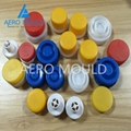 China custom high quality Plastic Injection Jelly Bottle Cap Moulding 5