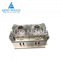 Disposable transparent plastic cylinder container mould 3