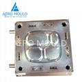 Easy Cleaning Double Color Baby Feeding Plate Mould 3