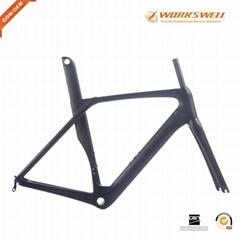 Aero Carbon Bike Frame Full Carbon Road Bicycle Frames Racing Bike Frameset BB86
