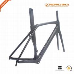 T1000 Carbon Road Bike Frames Aero Racing Bicycle Carbon Frameset BB86 2019 Ne