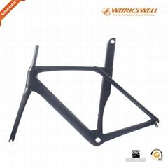 T800 carbon road bike cycling racing aero frame 700C BSA bicycle frameset