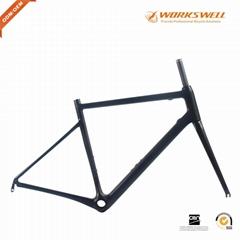 Monocoque Aero Carbon Road Bike Frame T1100 Carbon Racing Bicycle Frameset 780