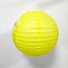 銷售彩色紙燈籠  可做手工工藝品